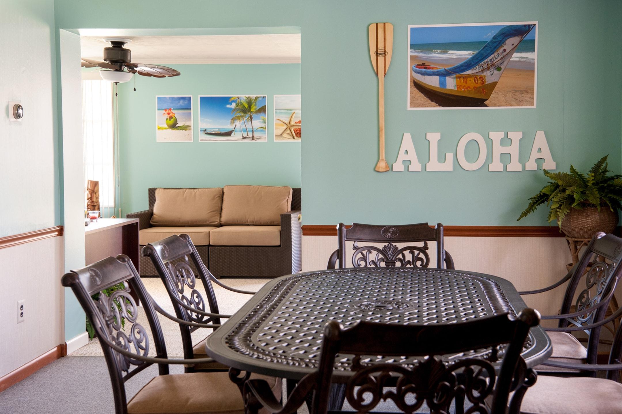 The lounge at Kokua Technologies